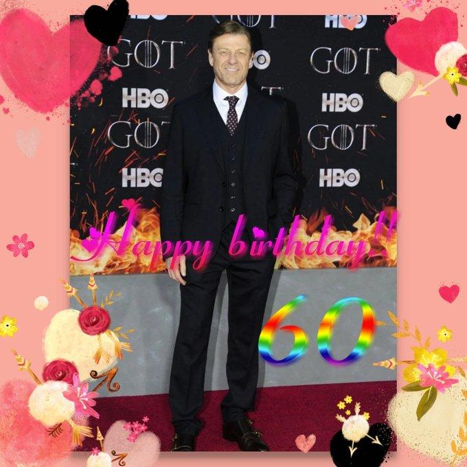 Happy birthday Sean Bean!!      60 and still handsome!!
