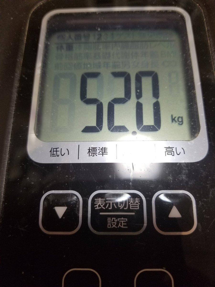 test ツイッターメディア - 絶食3日目72時間経過 ここ数日の体重の変動がヤバいな 笑っ  #絶食 #ほぼ絶飲 #リポドリン #デブの一週間で5㎏増減はもはやデフォルト https://t.co/VOv4jV2K6d