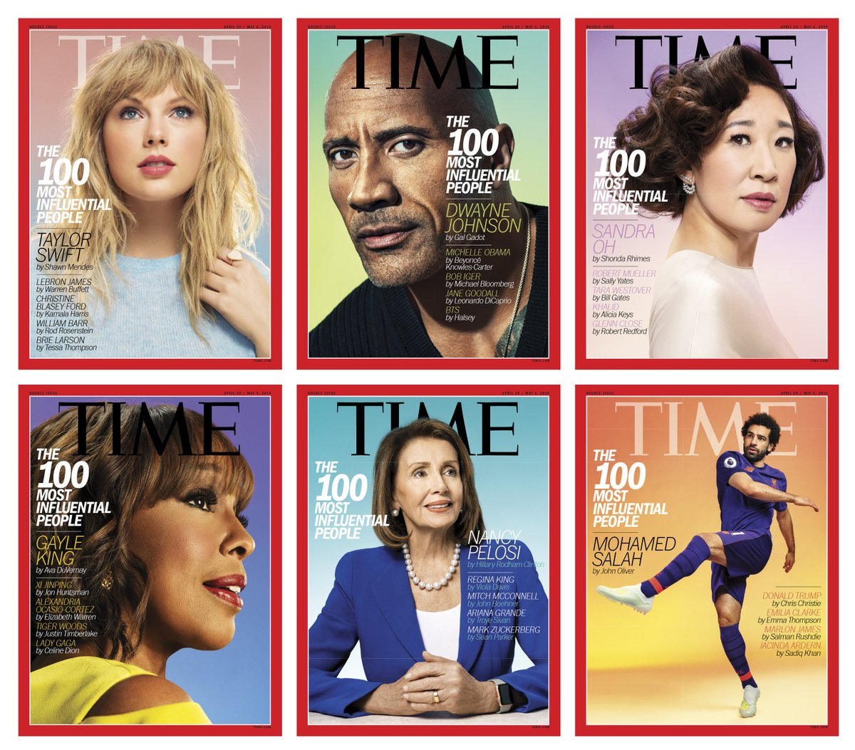 Loving the ratio of women to men here ???? #wcw amirite? Congrats to all ???????? much deserved. #TIME100 https://t.co/OBVKejtdAr