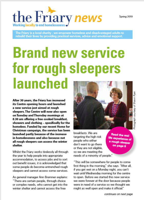 test Twitter Media - 📣 Our new Spring #Newsletter is out! Featuring powerful stories about the impact of our work & the successful launch of our new #roughsleepers drop-ins.   You can check it out by clicking on the below link 👇:  https://t.co/QIyvxscPEE #Nottingham #homelessness #WestBridgford https://t.co/vVVpbcjFUP