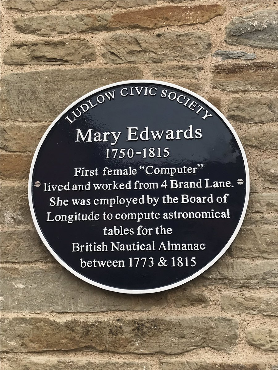 RT @UniKentCompPO: Found this plaque on a walk earlier. Hats off to Mary Edwards. https://t.co/SDXumVDiUj