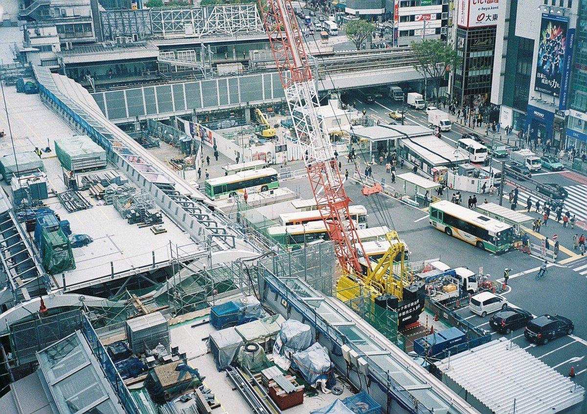 test ツイッターメディア - 📷107/365📷  【 #1日1枚紗希ちゃんカメラマン  】  ヒカリエから見た渋谷駅 ジオラマみたいな世界🚌  #EOSKissM  #紗希ちゃんカメラマン #写真好きな人と繋がりたい https://t.co/Umx0YWtltL