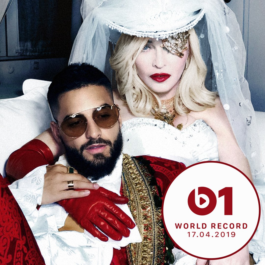 #Medellin ft @maluma is today's @Beats1 World Record on @AppleMusic with @zanelowe 9 AM LA/12 PM NYC/5 PM LDN https://t.co/EkpwRElj7U