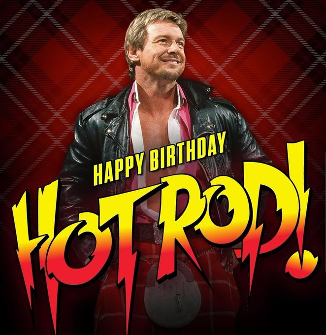 Gone but not forgotten. Happy Birthday to Rowdy Roddy Piper!