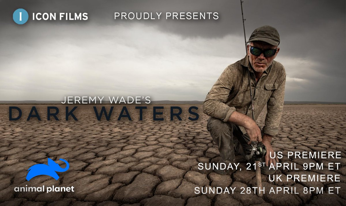 Relive classic moments from our favourite fishing fella over on @RiverMonstersUK as we gear up for the all-new Jeremy Wade's #DarkWaters, coming to screens in the USA this Sunday and worldwide Sunday 28th April on @AnimalPlanet. Make sure you're watching! https://t.co/iduogvF5y1