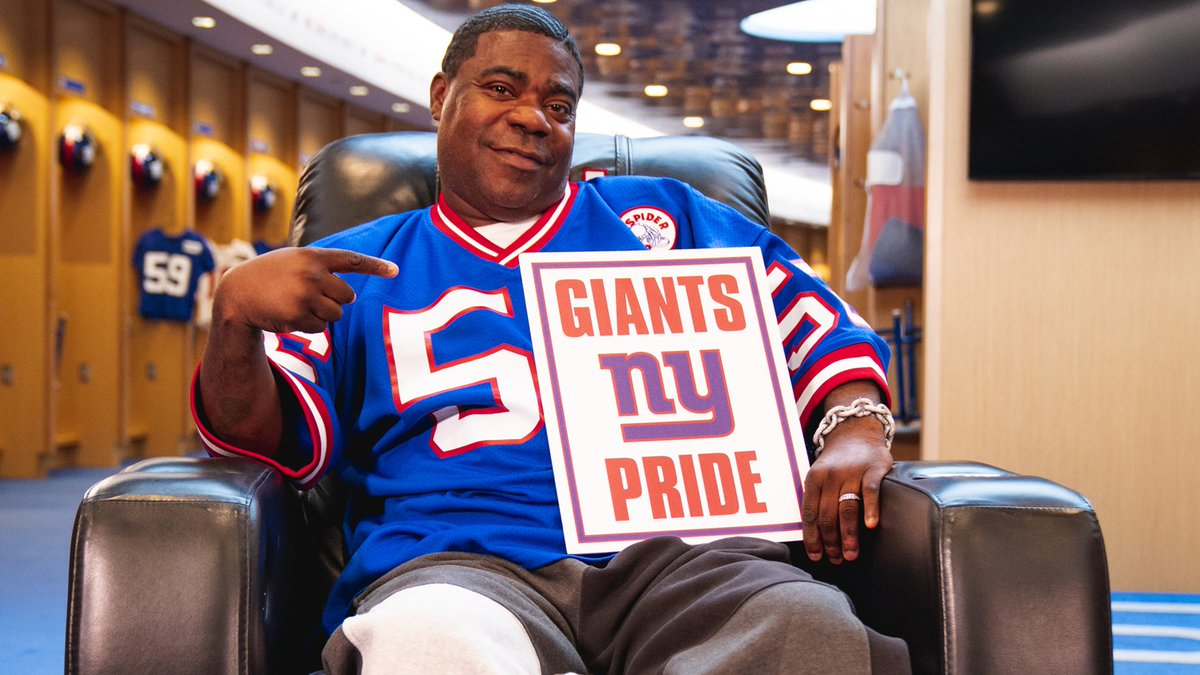 RT @Giants: .@RealTracyMorgan drops Big Blue's Fall Lineup, coming this September! ???? https://t.co/e26umIL719