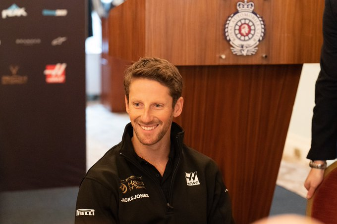 A very happy birthday to driver Romain Grosjean!