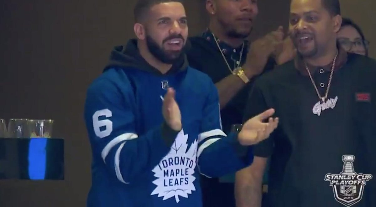 test Twitter Media - Drake showed up to Game 4 of Maple Leafs-Bruins  The Bruins won 6-4 https://t.co/uec9T4R6t3