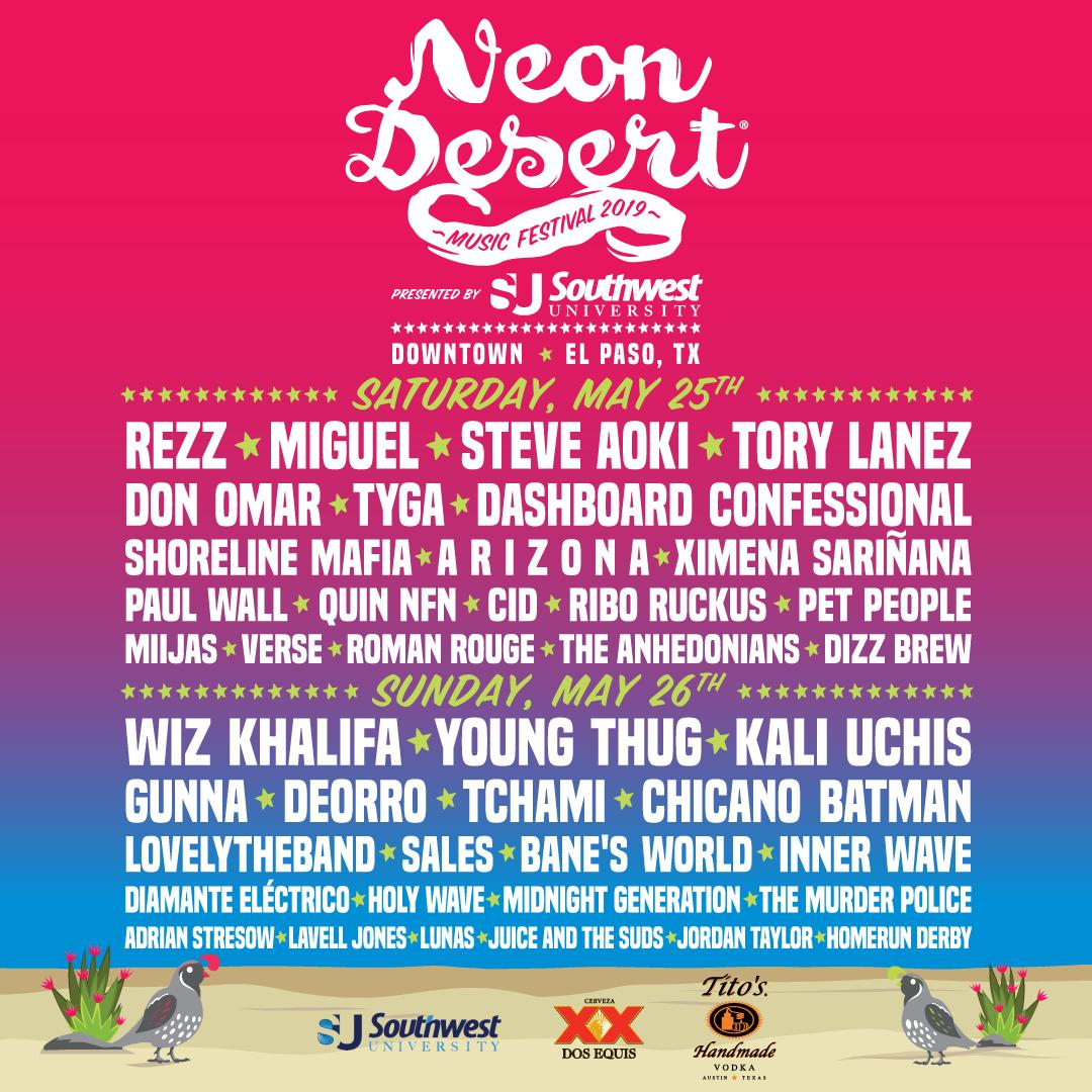 El Paso!  I'll be at @NeonDesert this Memorial Day Weekend!  Tickets on sale now at https://t.co/P7JVOIPUtd https://t.co/ro5hhzEJKC