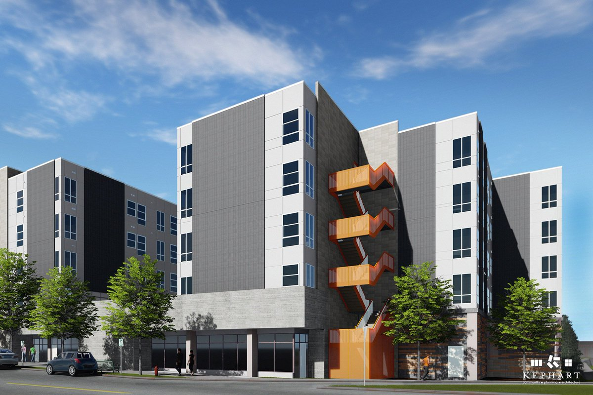 test Twitter Media - Walnut Street Lofts is a transit-oriented residential development by @UrbanLandC featuring 66 income-restricted homes, and is under construction!  We provided Xcel EDA services, energy code docs, and Enterprise Green Communities consulting. Rendering courtesy of @KEPHARTarch https://t.co/KCf4eBWYvV
