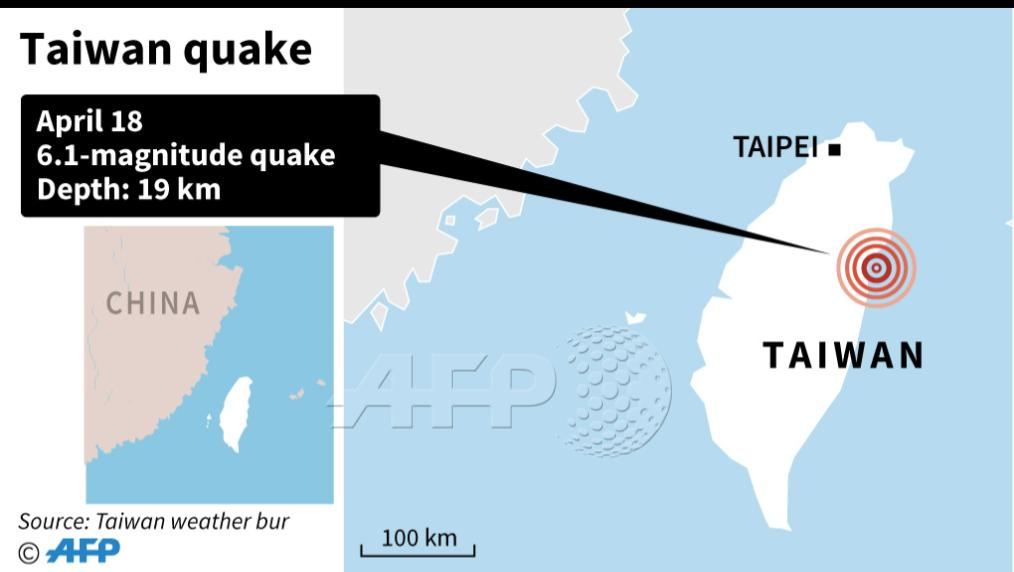 test Twitter Media - #UPDATE 6.0-magnitude earthquake has jolted Taiwan, causing highrises in Taipei to sway violently and school children to flee their classrooms in eastern Yilan county, according to reports  https://t.co/8q3Kd6vz8u https://t.co/DfDFhtPkCL