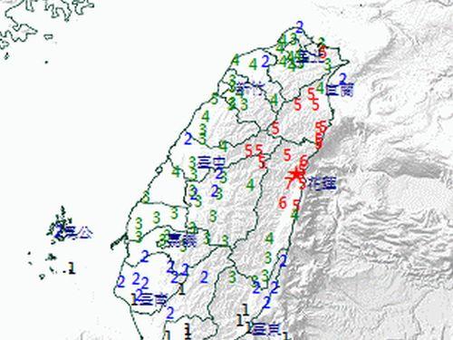 test ツイッターメディア - 【全土で揺れ】台湾・花蓮県で震度7の地震 https://t.co/dx5VjFfzsW  マグニチュードは6.1、震源の深さは18.8キロ。台中市などで震度5、桃園市や台北市などで震度4を観測した。 https://t.co/YxovMHvmxQ