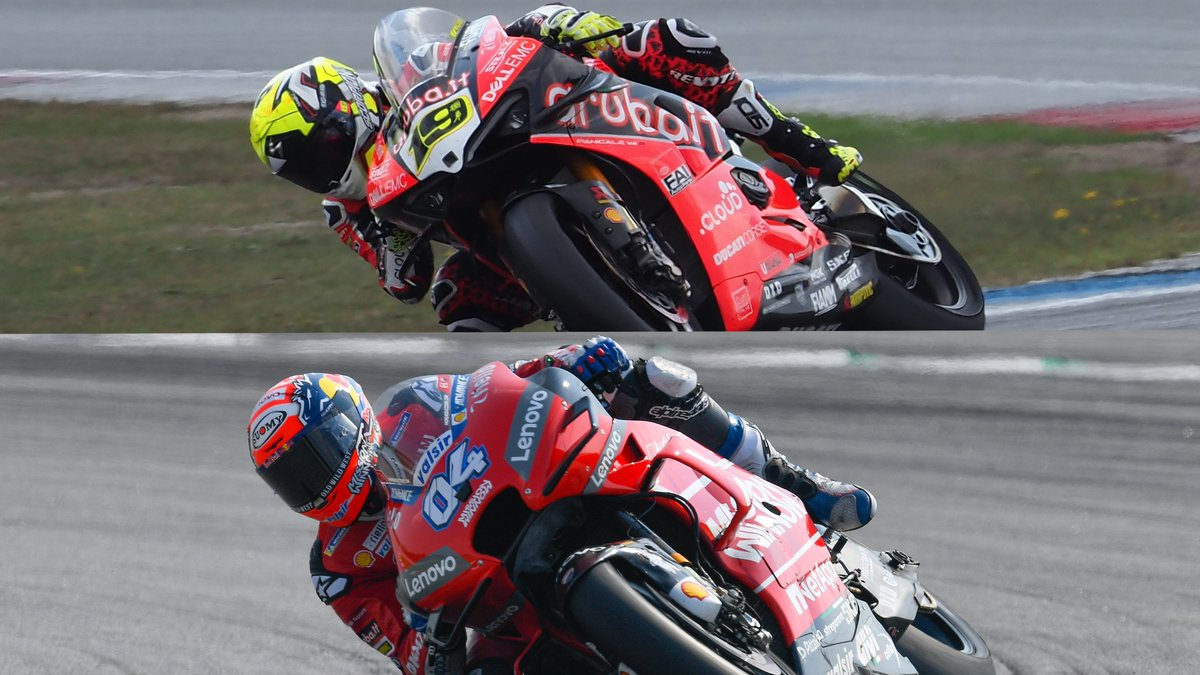 test Twitter Media - Ducati Power ⚡️: double dominion! 👑  The Italian based manufacturer keeps making steps forward in @worldsbk and @MotoGP. Is that a success meant to continue?  📃| #WorldSBK  https://t.co/DBJzc449Br https://t.co/sUmtnylmNd