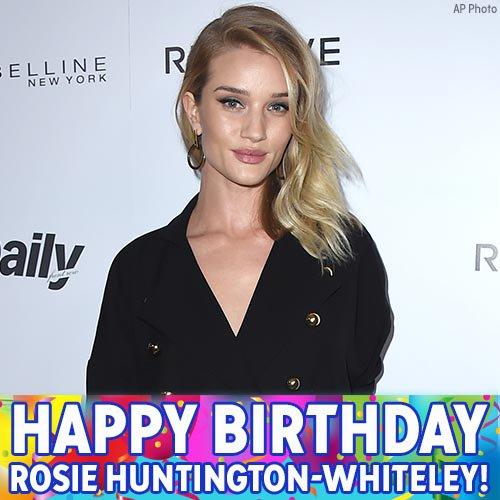 "Happy birthday to \""Mad Max: Fury Road\"" actress Rosie Huntington-Whiteley!"