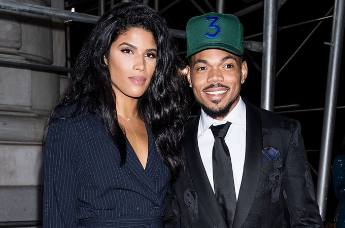 Chance the Rapper gets heartfelt birthday message from wife Kirsten Corley