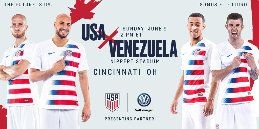 test Twitter Media - The @USMNT is coming to the Queen City for the first time! 🇺🇸   ➡️ https://t.co/e8iBFe1LXM https://t.co/rZbLsybyQV
