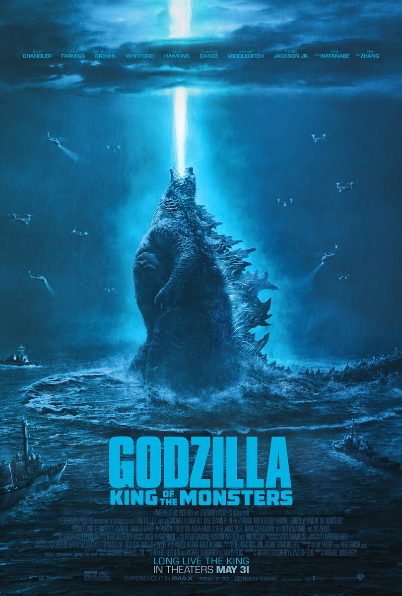 RT @GodzillaMovie: Long live the King. #GodzillaMovie – in theaters May 31. https://t.co/JKz4v7TPnH