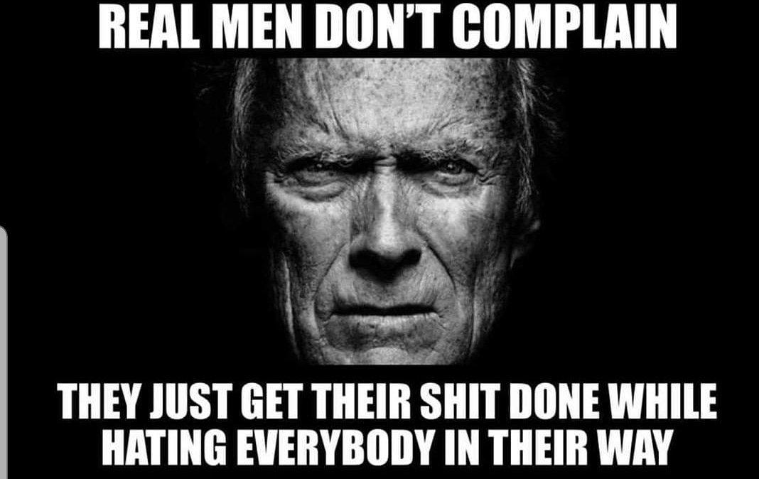 #RealMoments #truth #realmen #hardwork #clinteastwood #grantorino #noexcuses #jobcomplete #hustle #labor https://t.co/04KCEcycaa