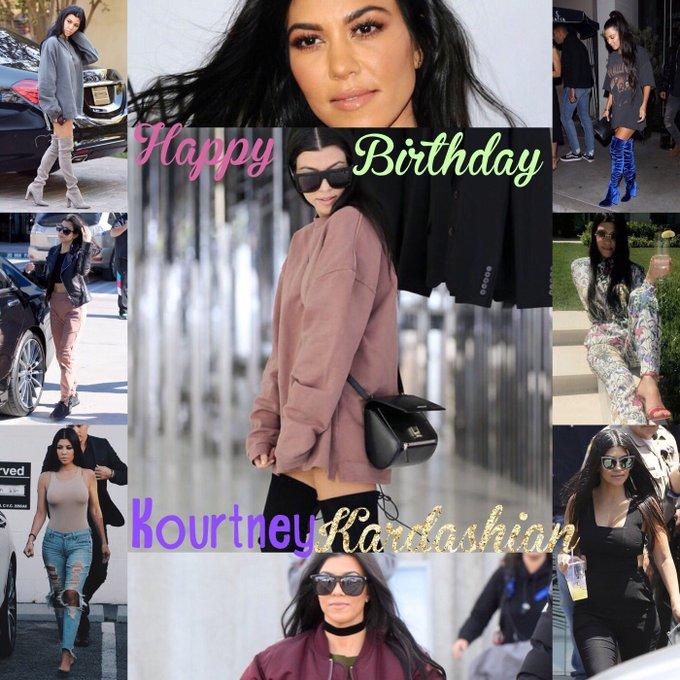 Happy birthday Kourtney Kardashian!!