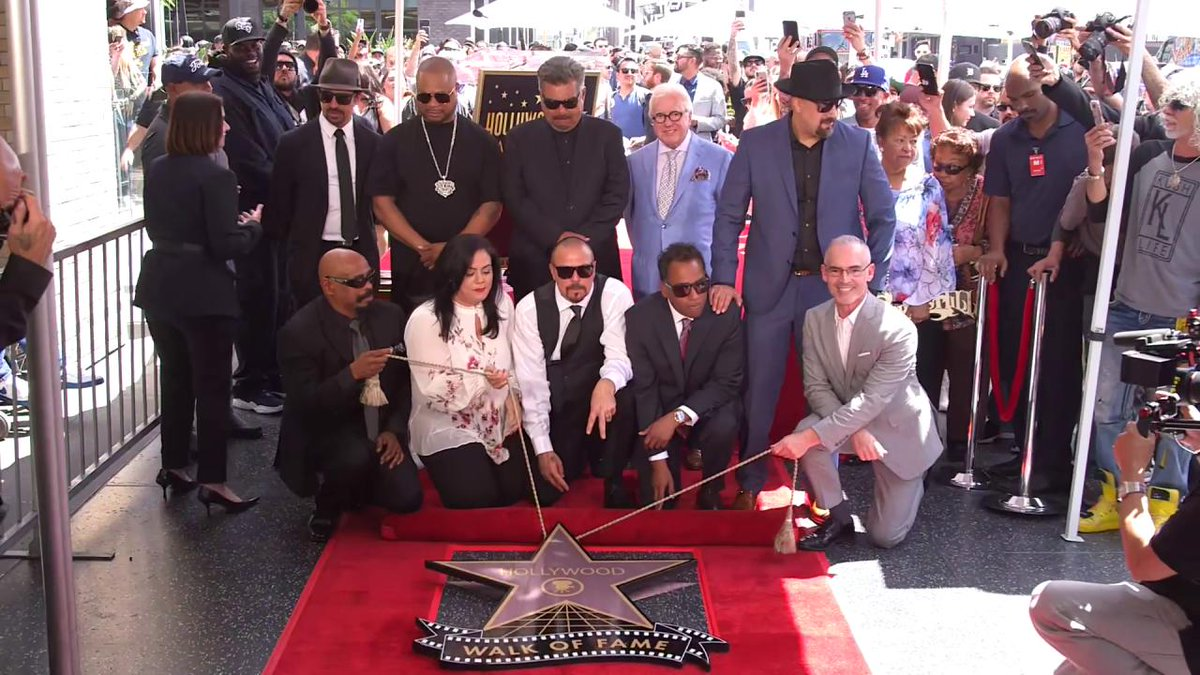 RT @Variety: Cypress Hill's star on the Hollywood Walk of Fame is unveiled https://t.co/cNtpIUd8Xg