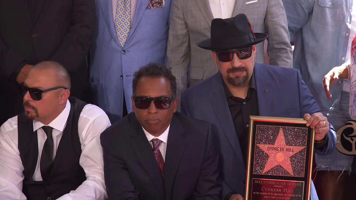 RT @Variety: Cypress Hill poses with their star on the Hollywood Walk of Fame https://t.co/4HrbLPyGmc