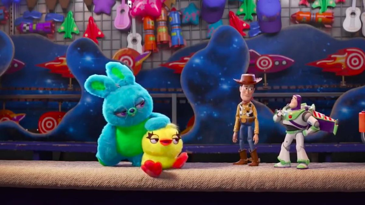 Get a closer look at @KeeganMKey and @JordanPeele's characters in the new #ToyStory4 clip https://t.co/Qslo7qu8s0 https://t.co/S0wGmO0Je0
