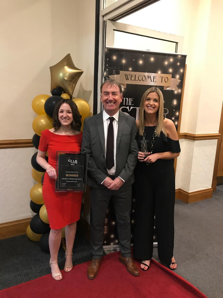 test Twitter Media - What a wonderful surprise for the H&WB Team for collecting a special award last night at the @StarAwards2019. Fantastic event recognising all the hard work our staff do 👏🏆 https://t.co/h1YNTSr7xG