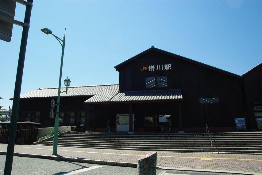 RT @ejima8: 世界広しといえど高速鉄道が止まる駅舎が築86年の木造駅舎なのは掛川駅くらいしかあるまい...