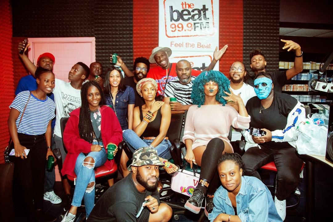RT @1RealJoeyB: check it out! Ghana was in there, listen here: https://t.co/WEc0XDnGi2  🇬🇭🇳🇬🌪👇🏾 @THEBEAT999FM...