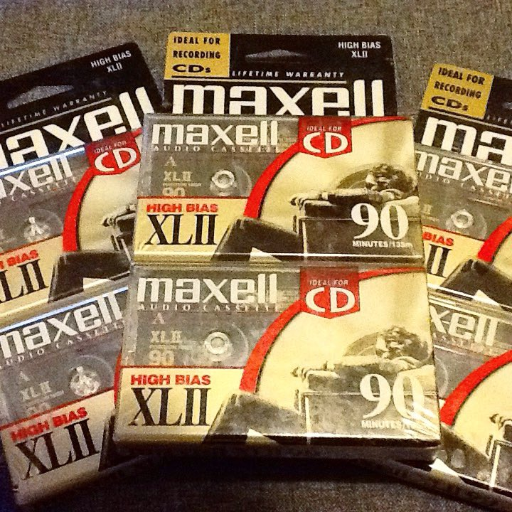 test Twitter Media - #maxell #cassette tapes blank sealed #type2 #highbias #XLII #1980s #80s #1990s #90s #musiccollector #musiccollection #tapecollector #tapecollection #blanktape #recording #record #music #analog I love collecting blank sealed tapes and using some for recording too of course! https://t.co/i0o9iptRdZ