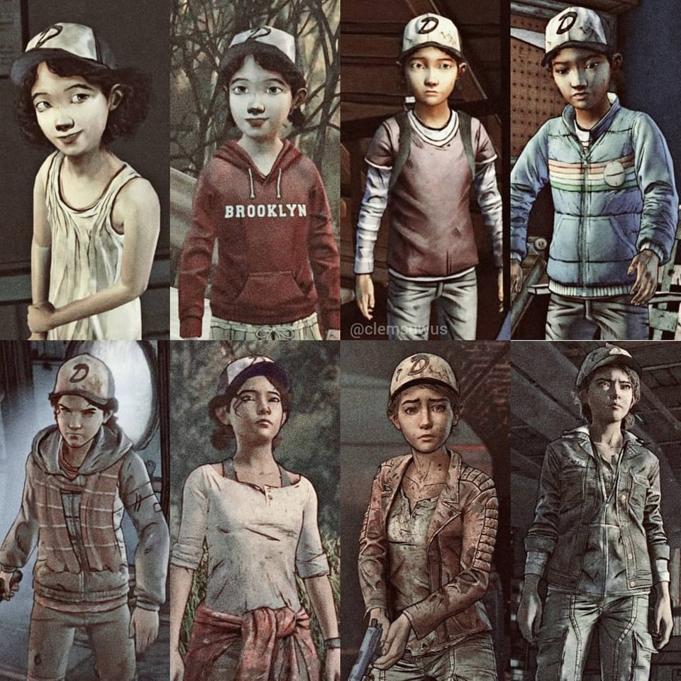 RT @ChenClem: Clementine Evolution https://t.co/eDY1Wp9OlD