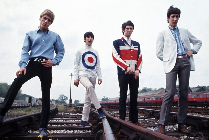 RT @crockpics: The Who, 1965.  #TheWho https://t.co/nyk8gy6CO9