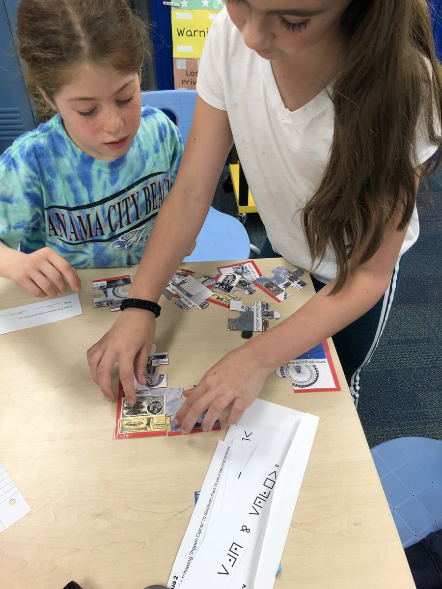 test Twitter Media - 3rd graders in @jlosoff's class successfully completed their Chicago history @breakoutEDU! Zoom in to see Mr. Losoff's face on the million dollar reward! #d30learns https://t.co/FhjZ7mGa0w