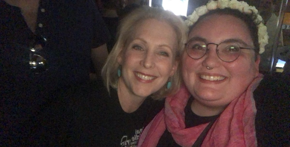 RT @citrinebard: just bumped into @SenGillibrand and i am LOSING IT THIS IS SO COOL https://t.co/EMyiIsMA6Y