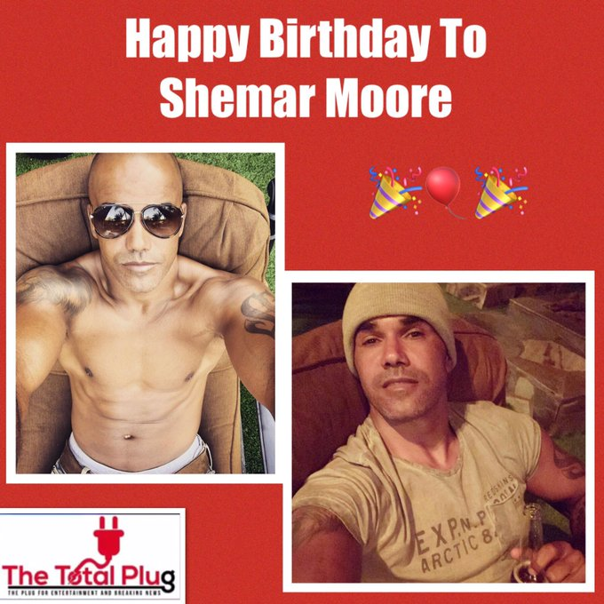 Happy Birthday To Shemar Moore