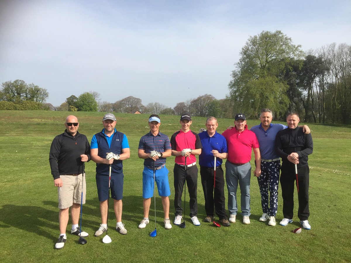 test Twitter Media - Our Golf Society enjoying the Mackintosh course in the glorious sunshine this Easter weekend ☀️⛳️  What a perfect way to spend a bank holiday.  Book your Society day with us on 01446 781781 Opt2 or email sales@cottrellpark.com for more information. . #golf #cottrellpark #easter https://t.co/IaJ08yPzKE