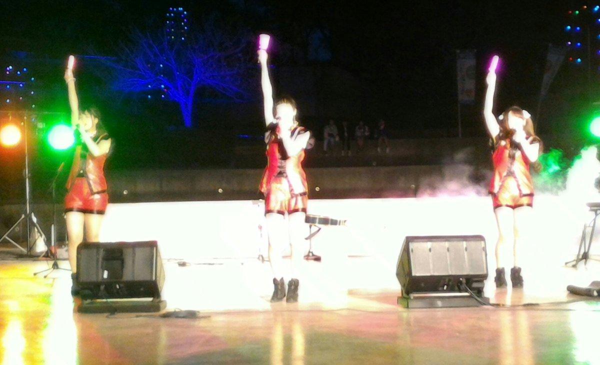 test ツイッターメディア - 水戸ご当地アイドル(仮)  八重桜まつり  2回目のステージ  急遽出演が決まったステージ、ランニング&おパンティの衣装で、さゆみん、ゆめちゃん、こまりちゃん 登場!「梅」「魁」を披露! MCの すいたんすいこうスズケンさんとのやり取りが面白かったです! スマホのカメラの限界です!  #mito_idol https://t.co/RFlg8jD6PH