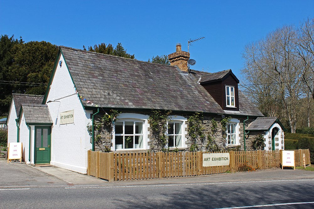 Image for Another beautiful day out in Bleddfa. Join us for 'Landscapes' by Lois Hopwood and an array of delightful refreshments in the Reading Room Café. Garden and grounds open. Come and take in the Bleddfa vibe! #art #gallery #BleddfaCentre #Café #shop #RealMidWales #peaceful #sunnyday https://t.co/DzCkflxuxX