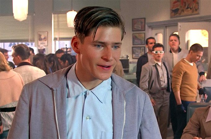 Happy 55th birthday to Crispin Glover! Remember him as George McFly?