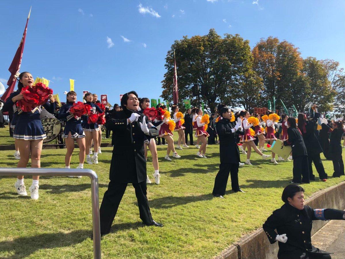 test ツイッターメディア - 【駅伝応援】  野球応援シーズンが終わると、10月〜2月にかけて駅伝応援シーズンにはいる。昨年は、仙台女子駅伝、出雲や全日本大学駅伝の応援しに行った。全国規模の駅伝では、他大学の応援団と切磋琢磨しながら母校にエールをおくる。 https://t.co/NRca3B8jx9