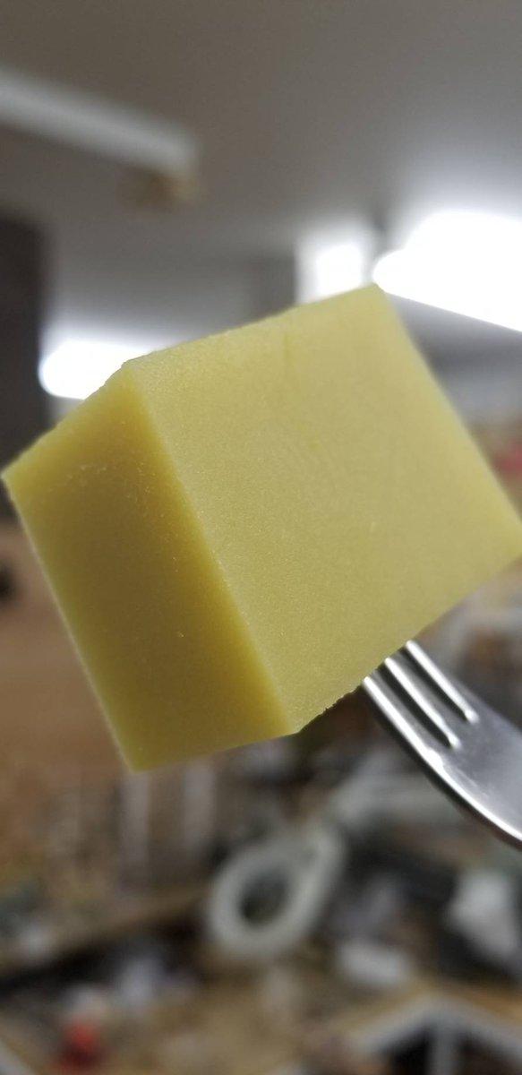 test ツイッターメディア - 舟和の芋ようかんをお土産に頂きました。 本当に芋だった。芋をスクエアに切ったものだった。 え?!これを!?バターで焼くですって!??!? 罪ー。 https://t.co/ifSu37jGmo
