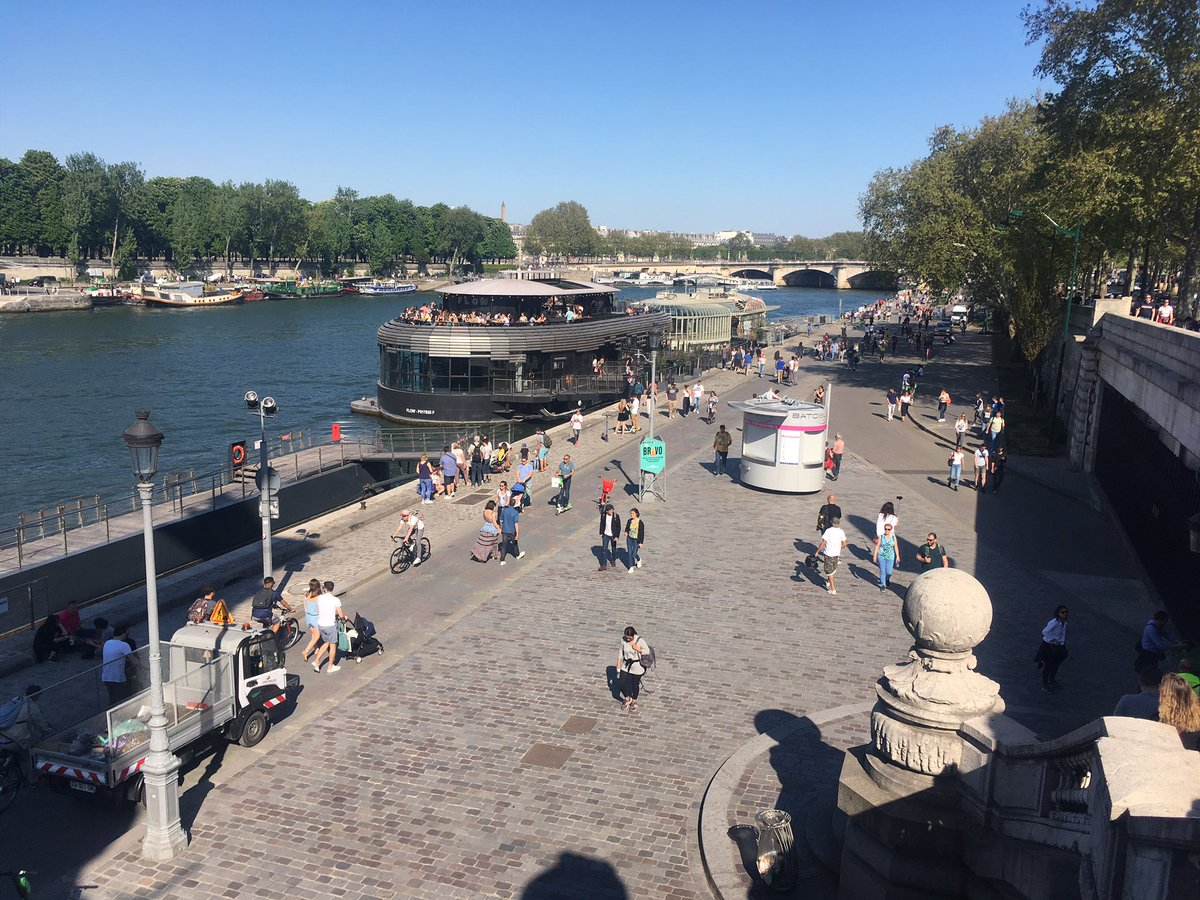 test Twitter Media - RT @urbanthoughts11: This used to be a nonplace for 40.000 cars per day #Seine #Paris #BergesDeSeine https://t.co/WOAwW2CHA8