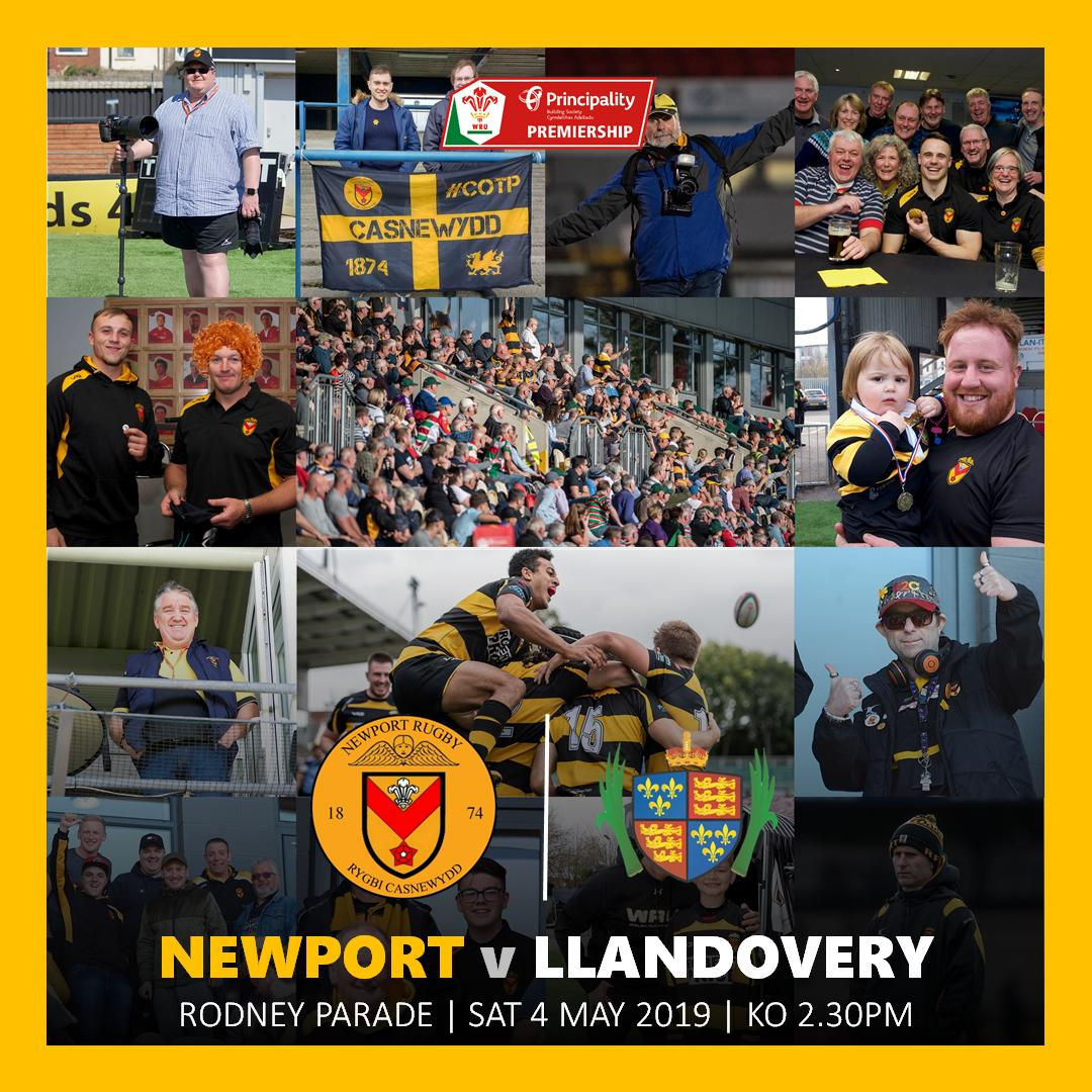 RT @NewportRFC: With that one done, just one more game awaits us this season...  #COTP #YmlaenCasnewydd https://t.co/PZbceJkbvv