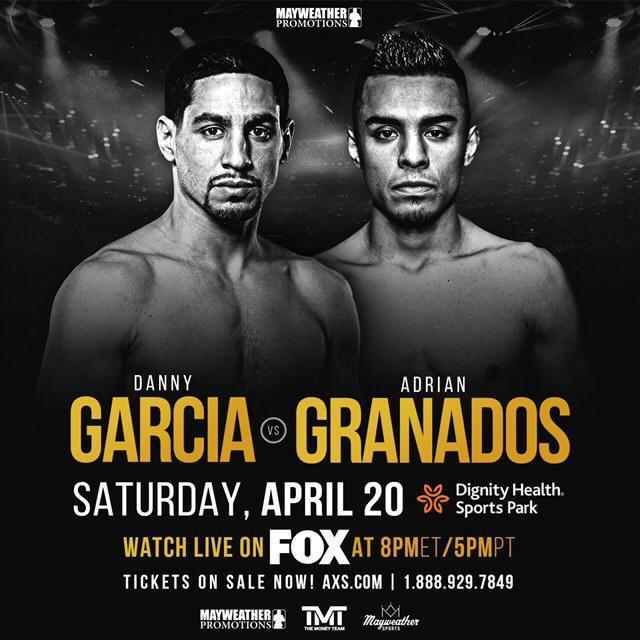 Don't miss this showdown! ???????? • • • Tune-in TODAY @PBConFOX 8pm ET/5pm PT! #GarciaGranados  @MayweatherPromo https://t.co/fAoKEHnevd