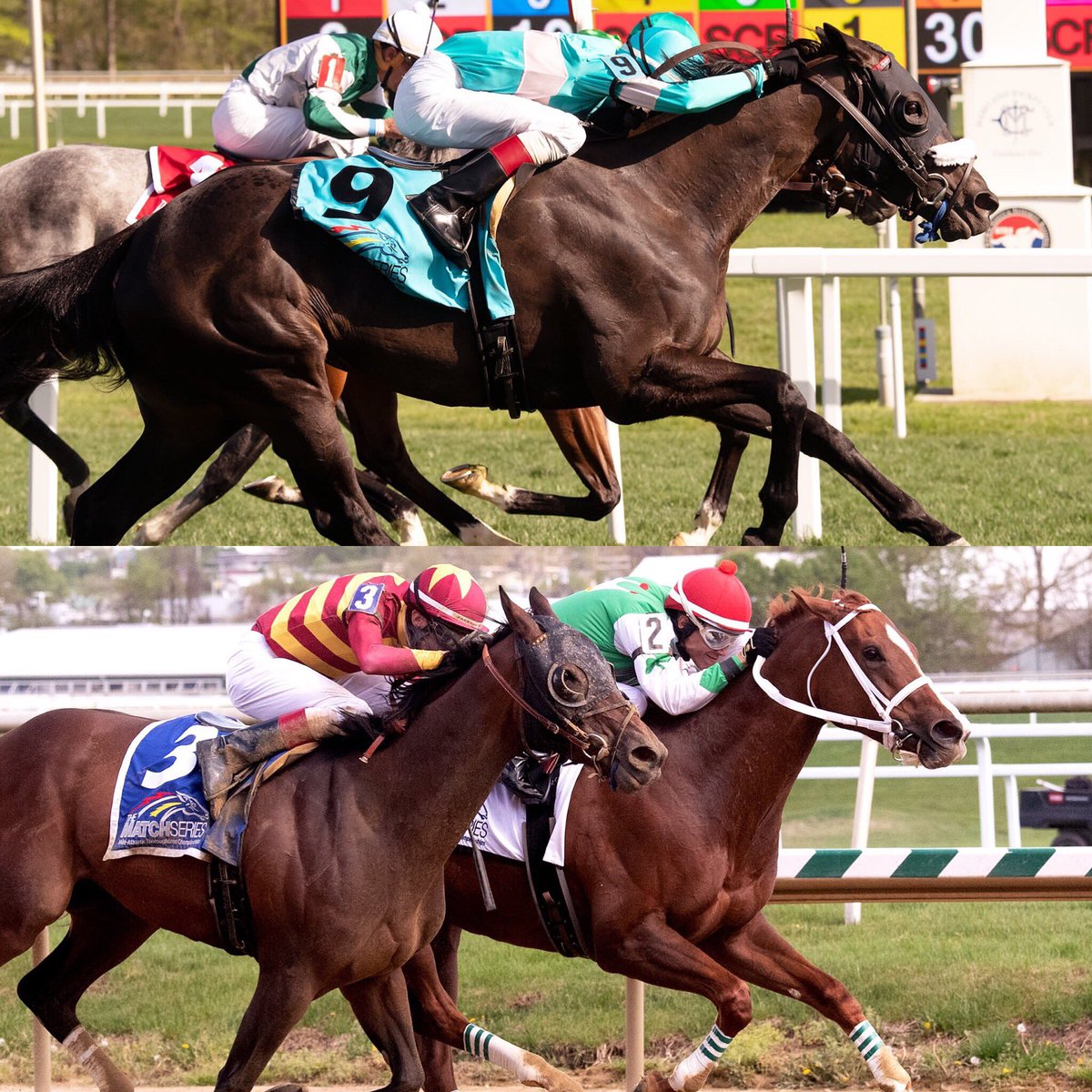 test Twitter Media - BSW private purchases finish 1st and 2nd (each by a👃🏼) in Dahlia and Primonetta Stakes. Congrats to the super connections: SECRET MESSAGE (Madaket, Herrick, @6ErikJohnson, Rebhan, Carroll, Bouchey). CAIRENN (@uscgatsby, @ColonelKisber, Madaket). @GrahamMotion / @trevormmccarthy https://t.co/lYRaz7Jz0f