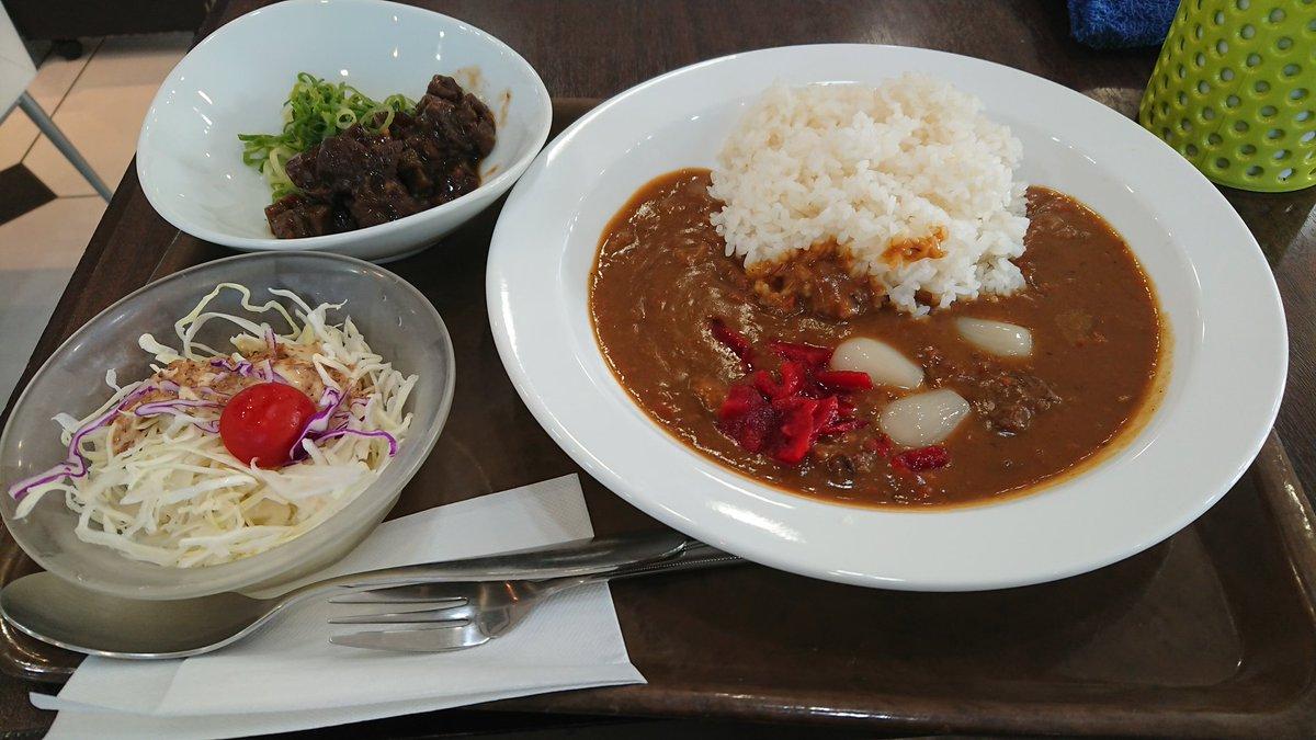 test ツイッターメディア - てことで神戸通過 朝飯で長田ぼっかけカレーとプリンソフトを食った https://t.co/d53YReU79U