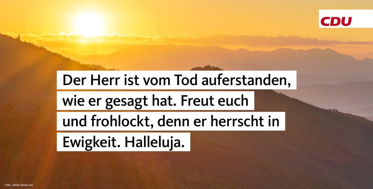 RT @CDU: Frohe Ostern! https://t.co/4XCt2NawrX