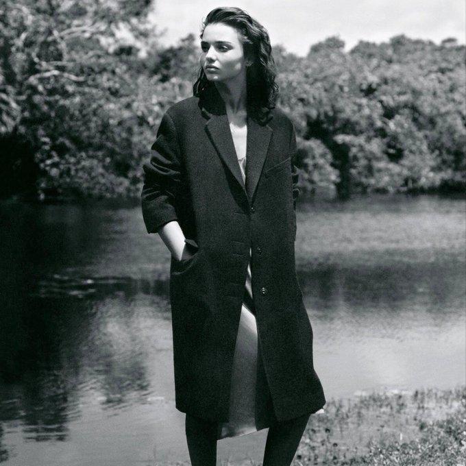 **Happy 36th Birthday Miranda Kerr** [in LANVIN by Alasdair McLellan for British Vogue September 2013]