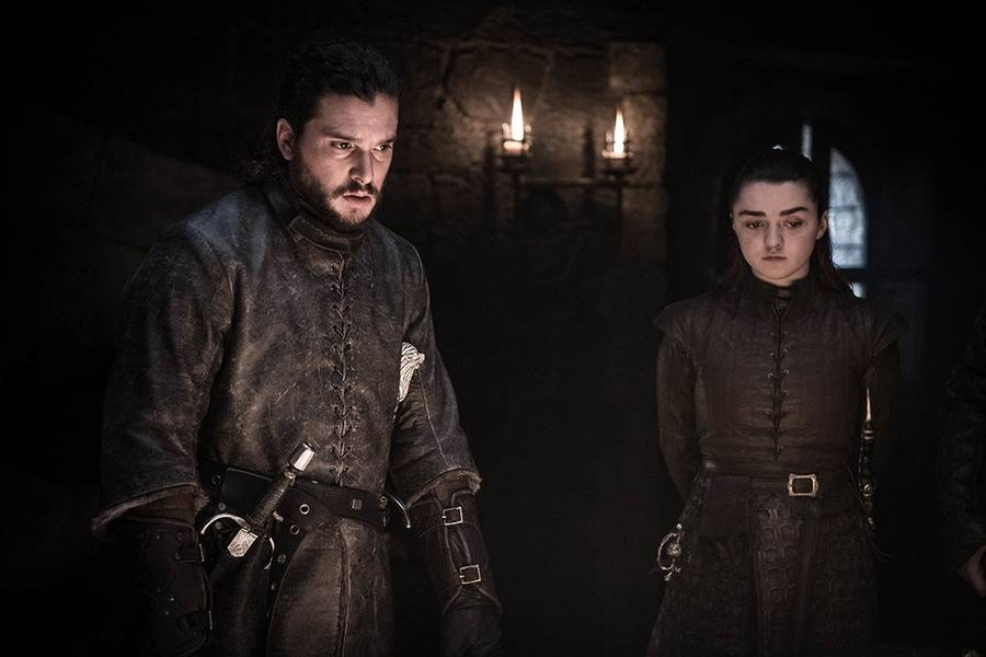 Jon Snow is preparing for battle in these newly released GameofThrones photos from HBO.
