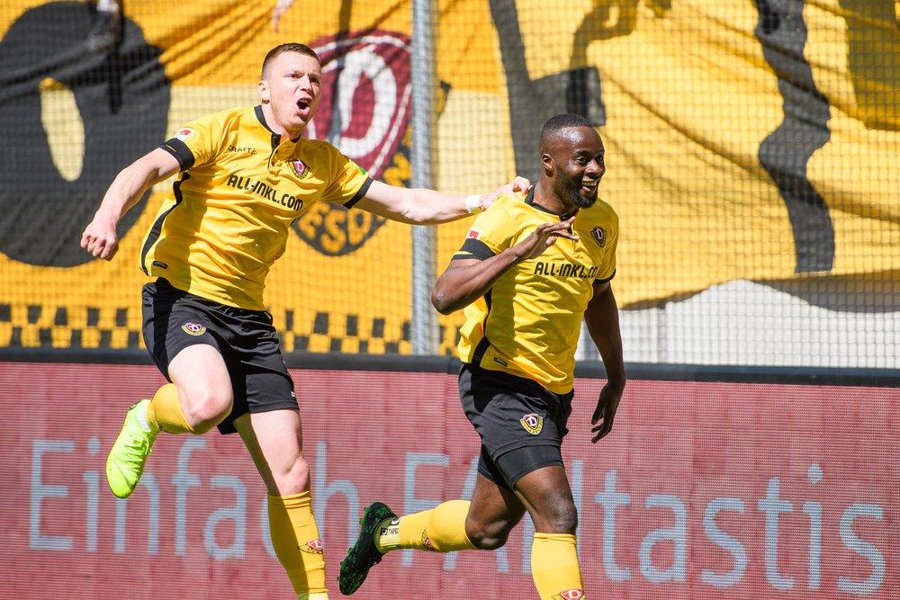 RT @DynamoDresden: 💥Sportgemeinschaft Dynamo Dresden! #SGDKOE 3:0 #sgd1953 https://t.co/3iWEGHXMsp